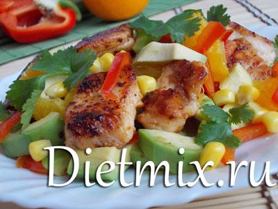 салат мексиканский рецепт с курицей перекресток