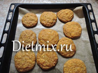 Мягкое печенье из тыквы – кулинарный рецепт