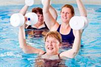 как похудеть в бассейне женщине