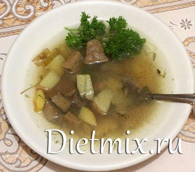 суп из печени говяжьей рецепты с фото